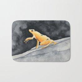 Golden frog Bath Mat