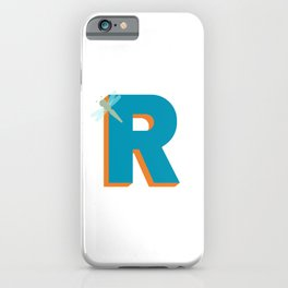 Letter R iPhone Case