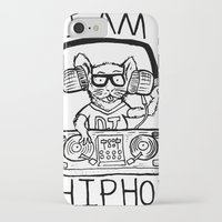 hiphop iPhone & iPod Cases featuring I AM HIPHOP  by Geryes