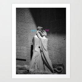 Amor y Paz Art Print