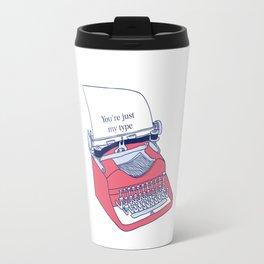Typewriter Travel Mug