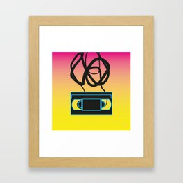 80's problems: VHS Framed Art Print