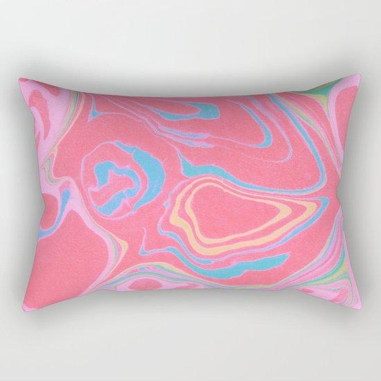 Suminagashi 04 Rectangular Pillow