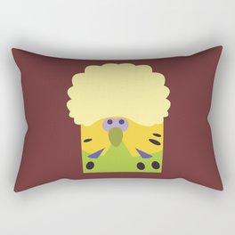 English Budgerigar 2 Rectangular Pillow