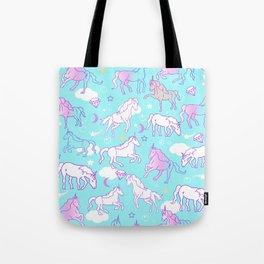 Unicorns In The Sky Tote Bag