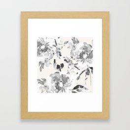 Floral Pillow Framed Art Print