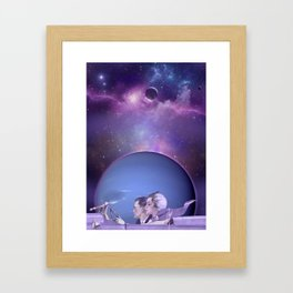 Trip to Neptune Framed Art Print