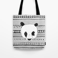 PANDA PATT! Tote Bag