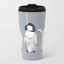 Holiday Penguin Trio Travel Mug