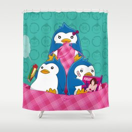 1-2-3 / We are Family! Shower Curtain