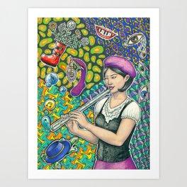 Creations Art Print