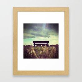 Take a seat part 1 Framed Art Print
