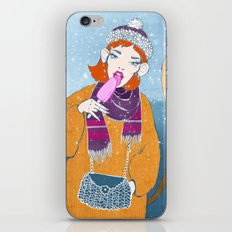 Ice Monkey iPhone Skin