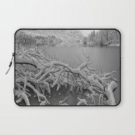 Wintry Lake Bohinj Laptop Sleeve
