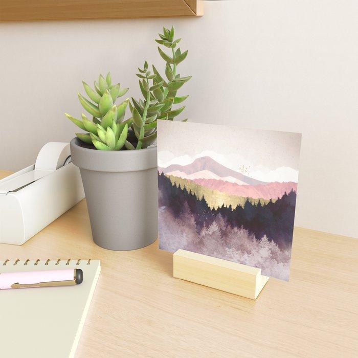 Plum Forest Mini Art Print