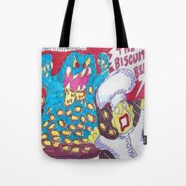 Beware, The Biscuit Beast! Tote Bag