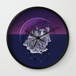 Hogwarts series (year 7: the Deathly Hallows) Wall Clock