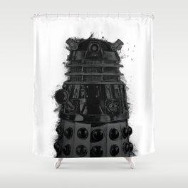 Exterminate! Shower Curtain