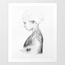 Onward and Inward Art Print