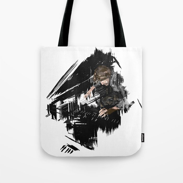 Piano player Tote Bag