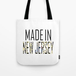 Made In New Jersey Tote Bag