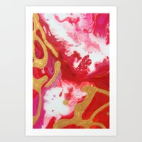 Untitled Abstract 10 Art Print