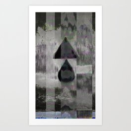 Naught but vessels to contain and dispense unending cycles of compassion, perhaps. Art Print
