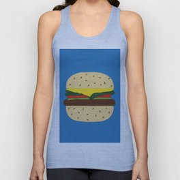 Burger Unisex Tank Top