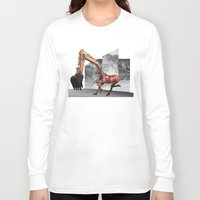 mustang Long Sleeve T-shirts featuring Mustang by Lerson