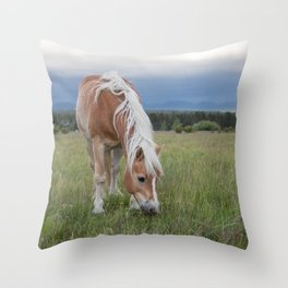 Blonde Beauty Throw Pillow