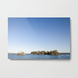 The Island at Blue Hill, Maine Metal Print