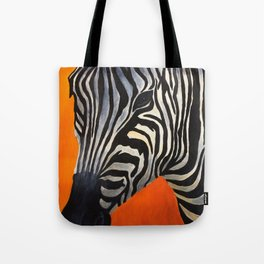 Zebra Stripes Tote Bag