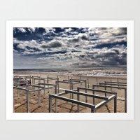 Beach/ Torvaianica Art Print