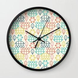 Conversational Art Wall Clock