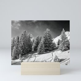 Courchevel 3 Valleys Alps France Mini Art Print