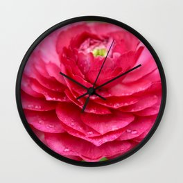 Water Droplets Wall Clock