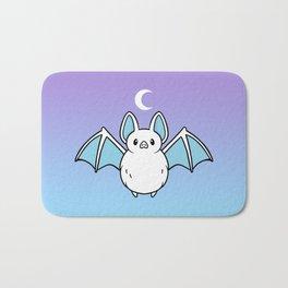 Cute Night Bat Bath Mat