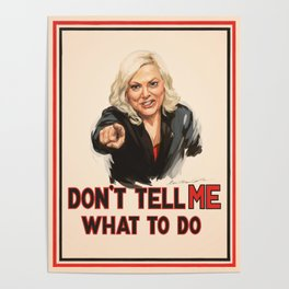 Don't Tell Amy What to Do Poster