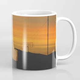 My sunset view! Coffee Mug