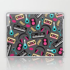 Jazz music instruments and sounds pattern Laptop & iPad Skin