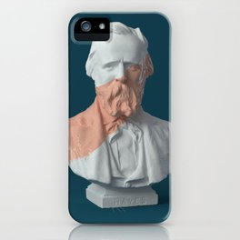 paint on Gypsum statue [06] iPhone Case