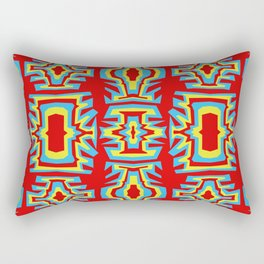 Fire Coral - Coral Reef Series 007 Rectangular Pillow