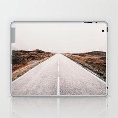 ROAD - HIGH WAY - LANDSCAPE - PHOTOGRAPHY - NATURE - ADVENTURE - SKY Laptop & iPad Skin