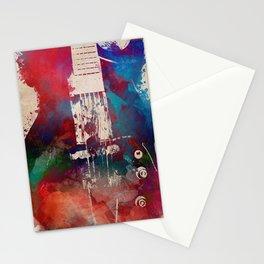 guitar art 6 #guitar #music Stationery Cards