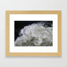 Rushing Water Framed Art Print