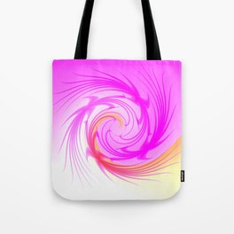 Feather Duster Tote Bag