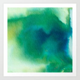 Ethereal Green Art Print