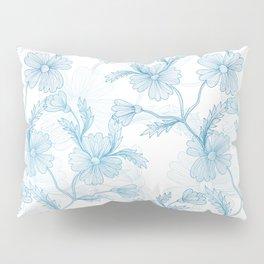 Blue Cornflowers Pillow Sham
