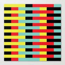 Geometric Pattern #10 (stripes) Canvas Print