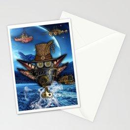 Steampunk Mechanics Stationery Cards